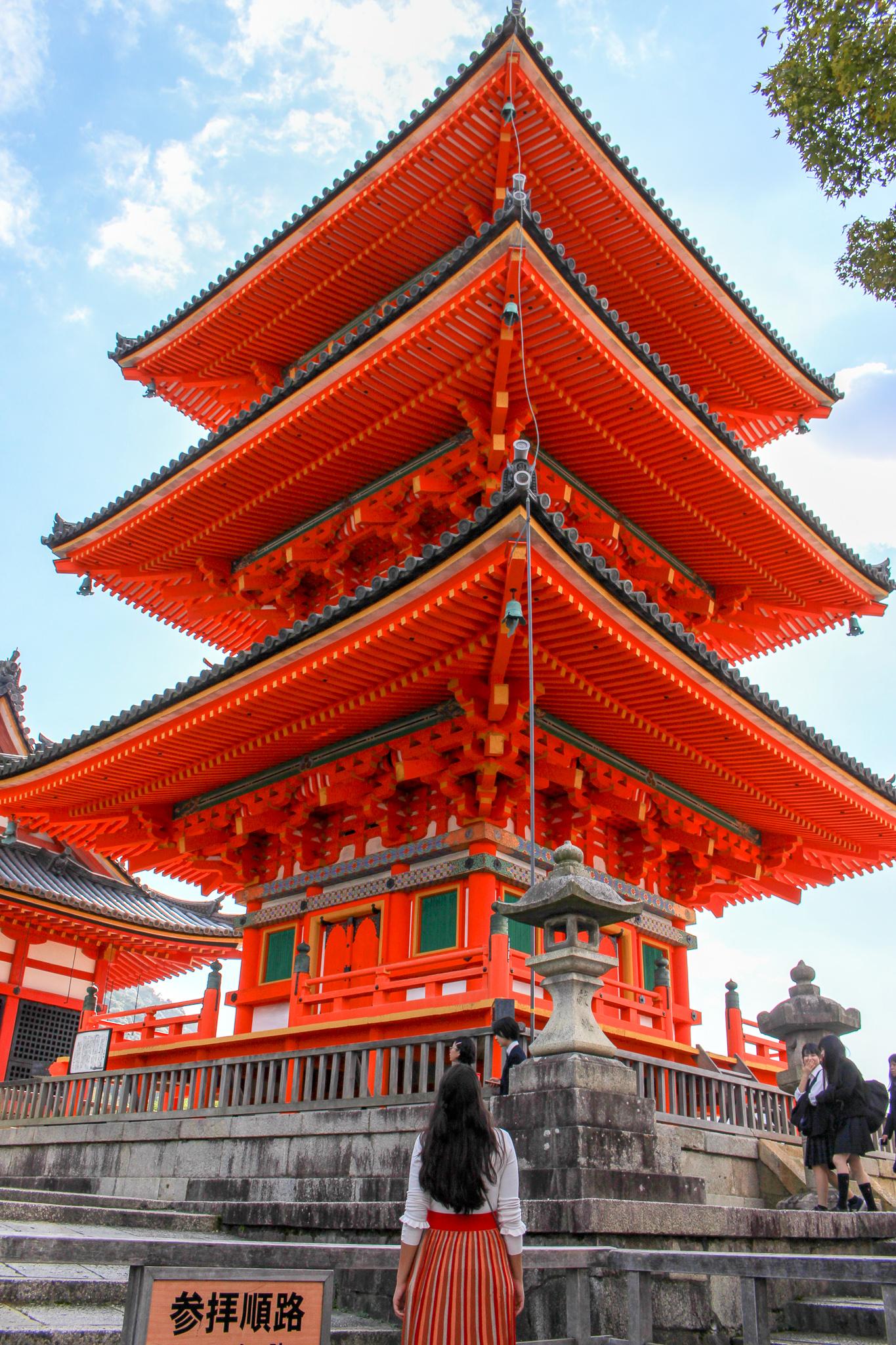 Kyomizu_Dera_pagode