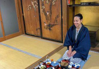 Como é se hospedar em um templo budista no Japão?