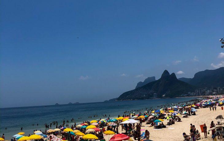 Um dia de verão perfeito no Rio de Janeiro